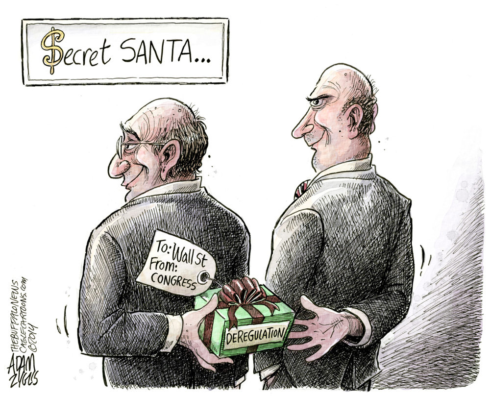 Adam Zyglis Secret Santa Buffalo News