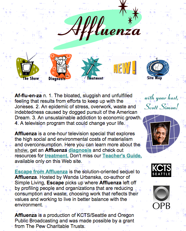 Affluenza TV Show PBS