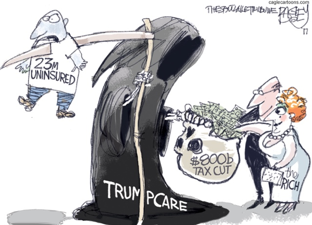 Bagley Trumpcare Tax Cut