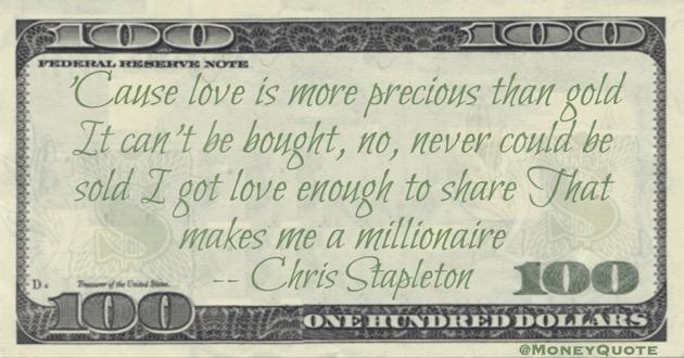 Chris Stapleton Quote