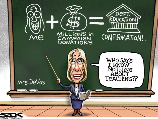 Devos Contribution Equals Confirmation Math