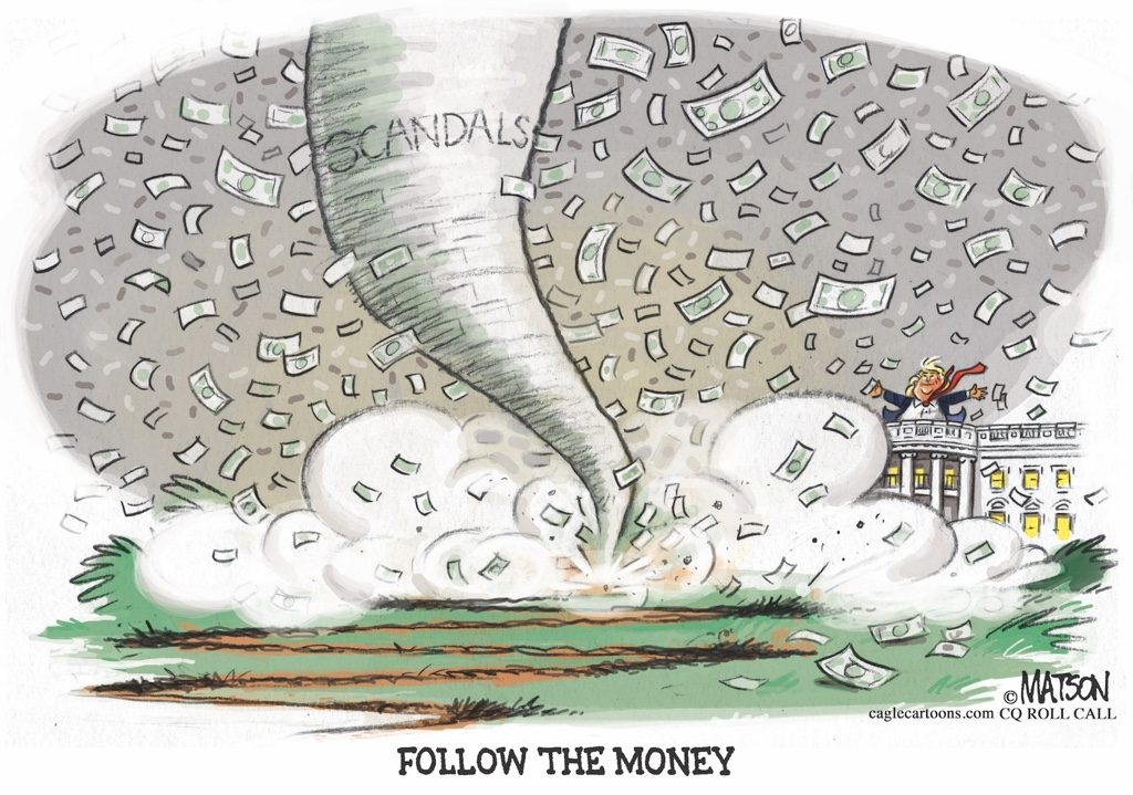 Follow the Money Trump Scandals
