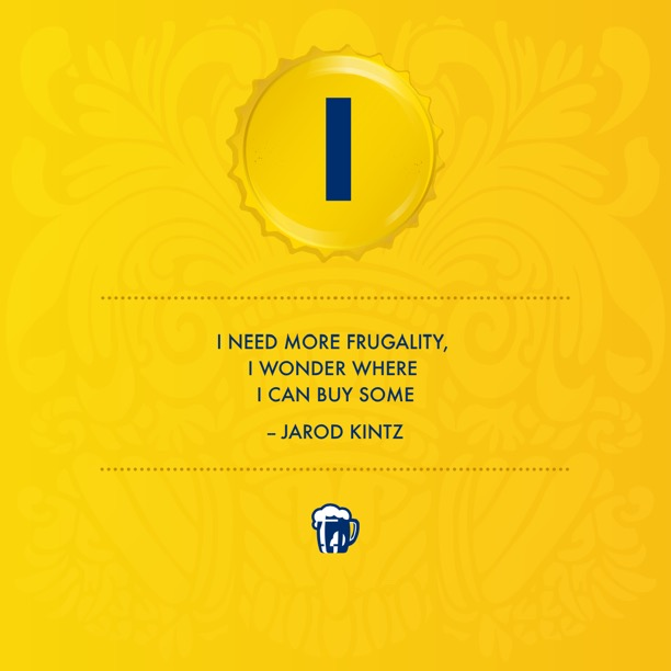 Jarod Kintz Need Buy Some Frugality