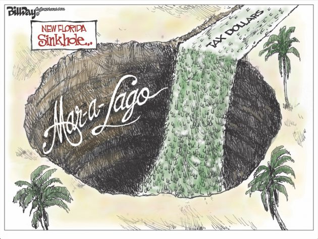 Mar-a-Lago Bill Day CagleCartoons