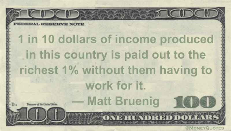 Matt Bruenig 10 Percent Paid Richest 1 Percent