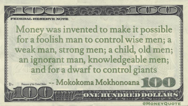 Mokokoma Mokhonoana Quote