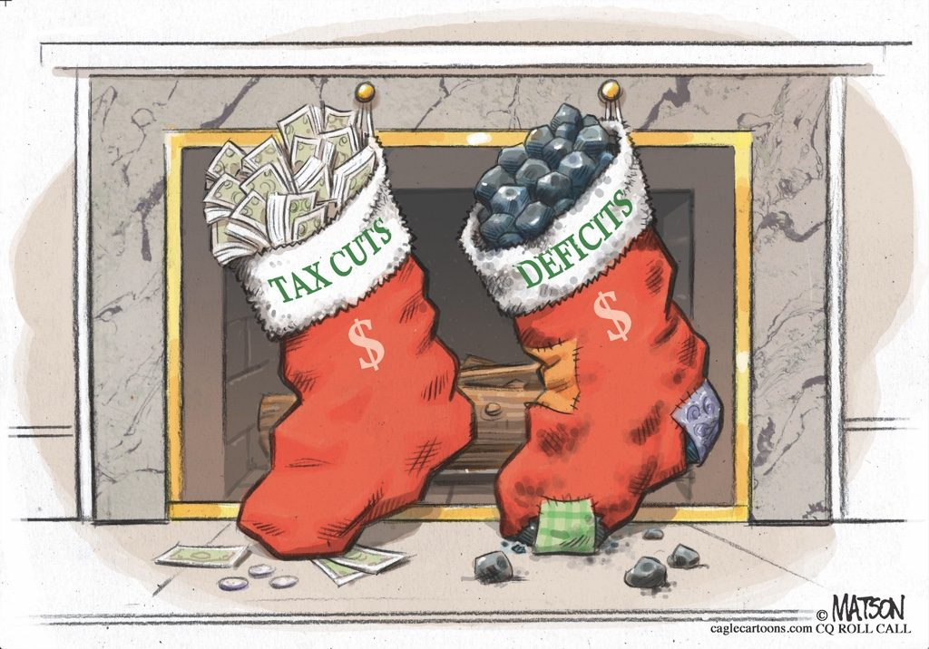 RJ Matson, Tax Cuts & Deficits Christmas