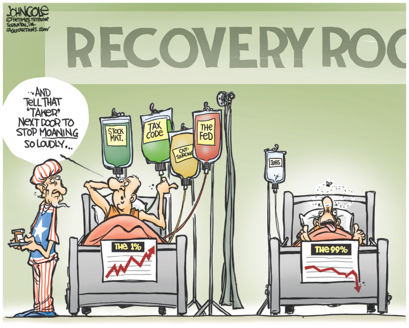 Recovery Room One Percent Taxes John Cole, The Scranton Times-Tribune