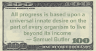 Samuel Butler: Organism Beyond Its Income
