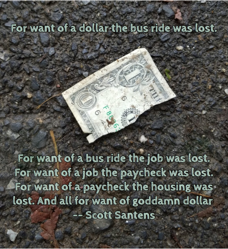 Scott Santens For Want Goddam Dollar