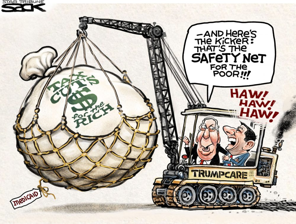TrumpCare Steve Sack Star Tribune