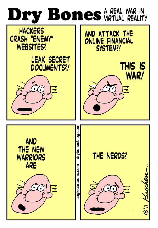 Yaakov Kirschen, Jerusalem Post War of Nerds Against Hackers