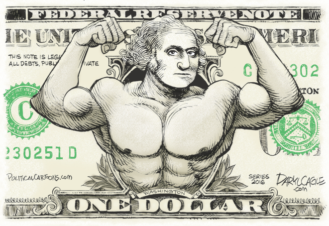 Washington Muscle Dollar Cagle