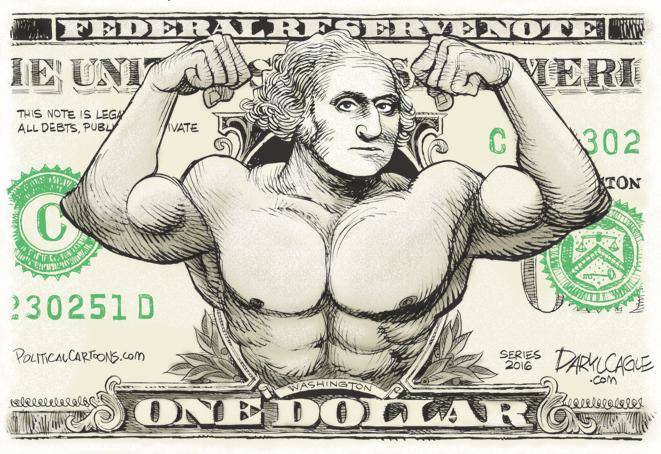 Washington Muscle Dollar Cagle