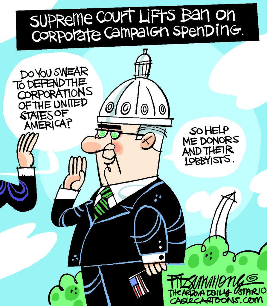 David Fitzimmons - Arizona Star Corporate money
