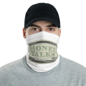 Money Talks Face Mask