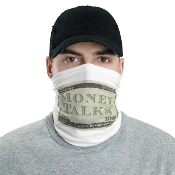 Money Talks Face Mask